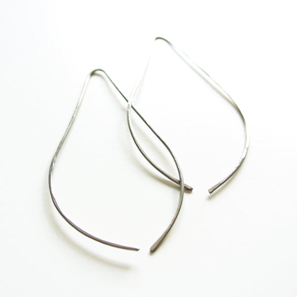 Havi - Teardrop Titanium Threader Earrings - Nickel Free Earrings