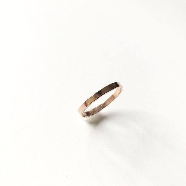 Rose Gold Filled Band Ring
