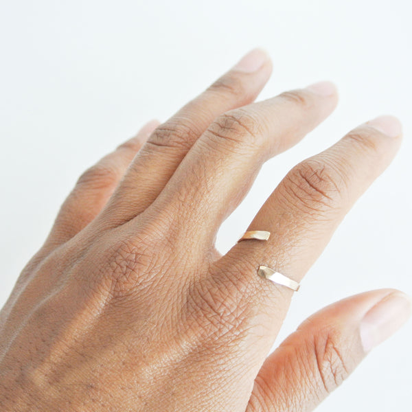 Nia 12kt Gold Filled Stacking Ring