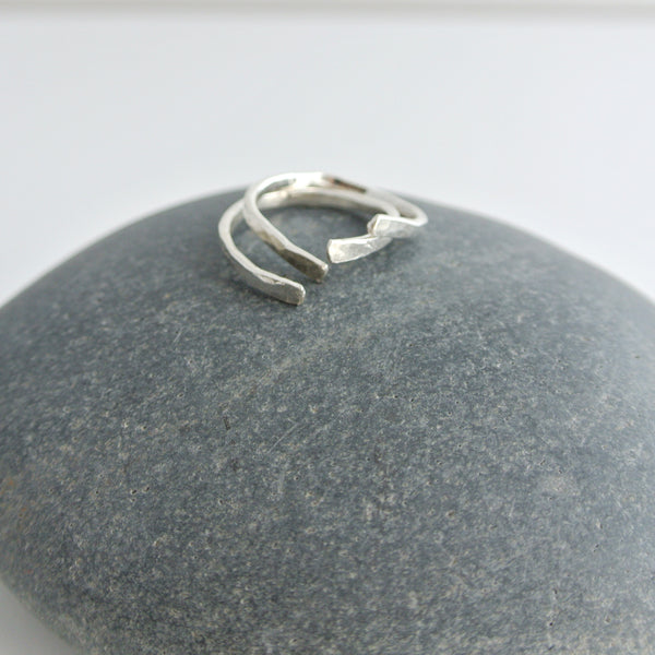 Nia - Sterling Silver Stacking Ring Set