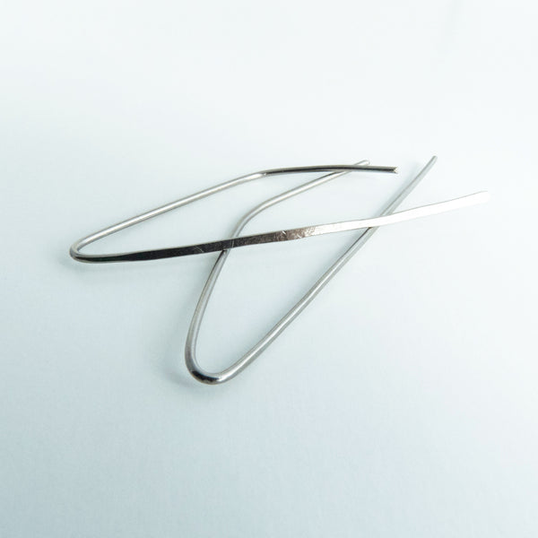 Titanium Threader Drop Earrings 3