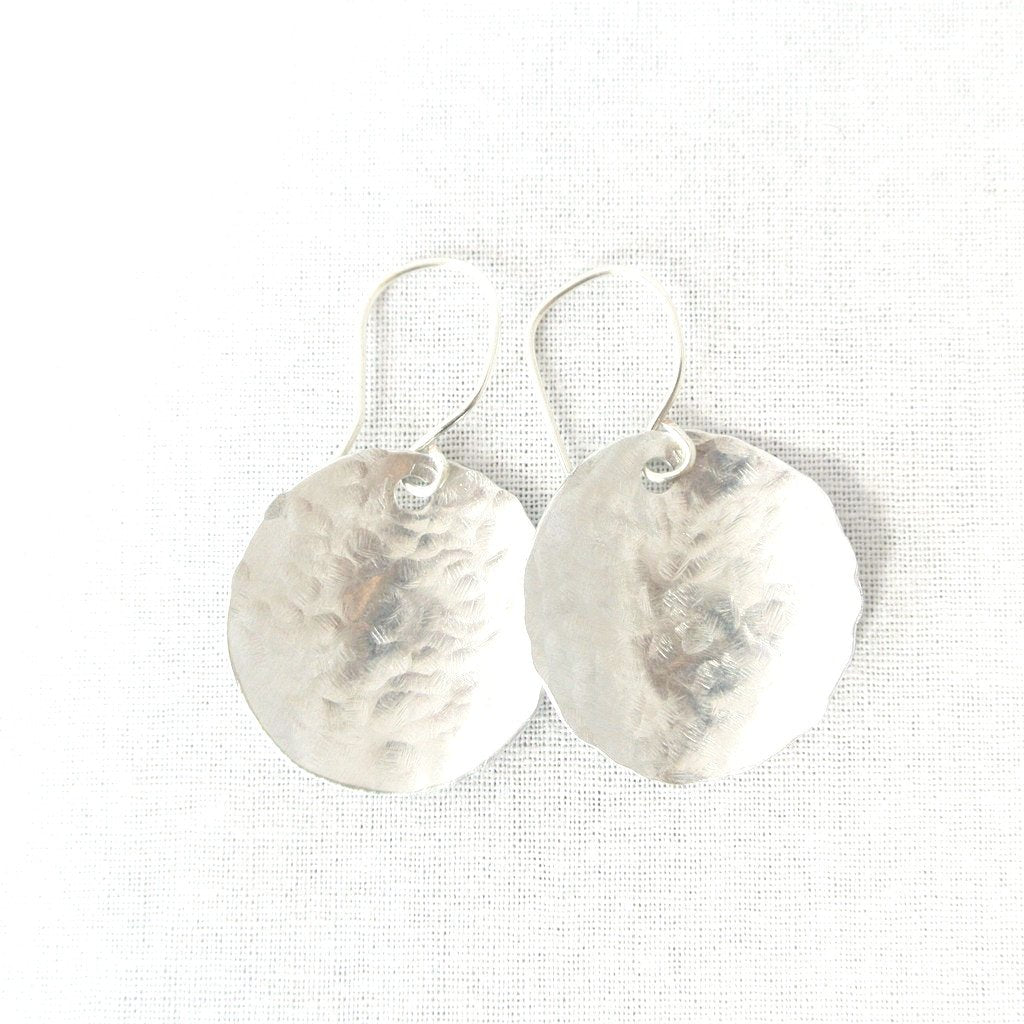 Steel Pan Silver Earrings - Dangle Silver Earrings - The Pink Locket
