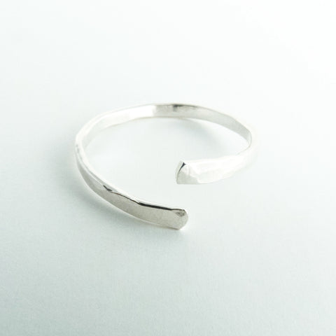 Nia - Sterling Silver Stacking Ring Thin Band