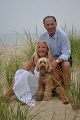 My parents and beloved dog, Maudie.