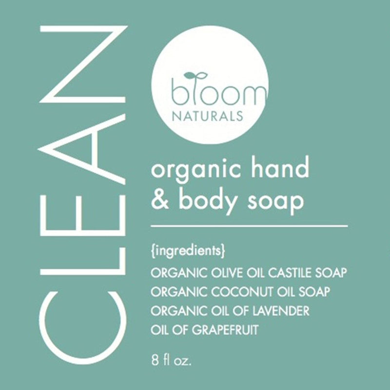 clean | gentle hand & body soap-body-Bloom Naturals