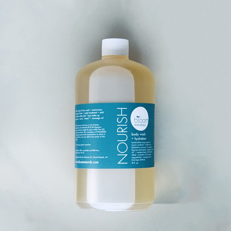 nourish | body wash & hydration | 32 oz.-body-Bloom Naturals