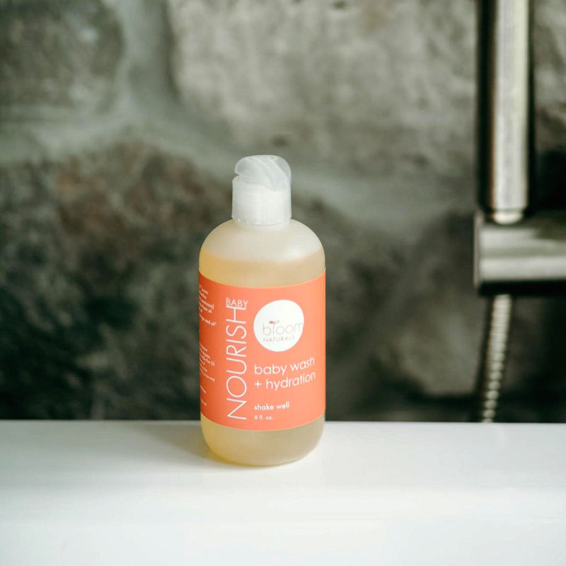 nourishbaby | baby wash & hydration 8 oz-Kids-Bloom Naturals