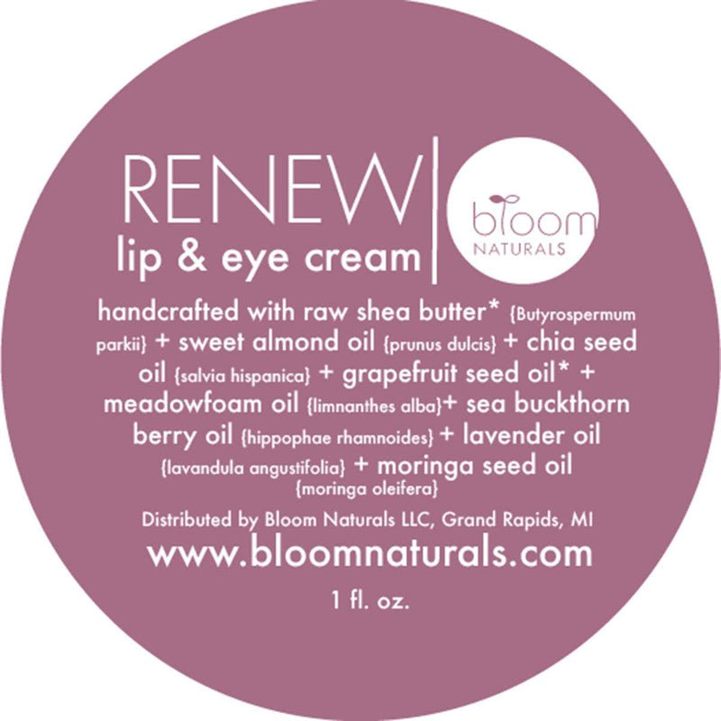 renew | lip & eye cream-face-Bloom Naturals