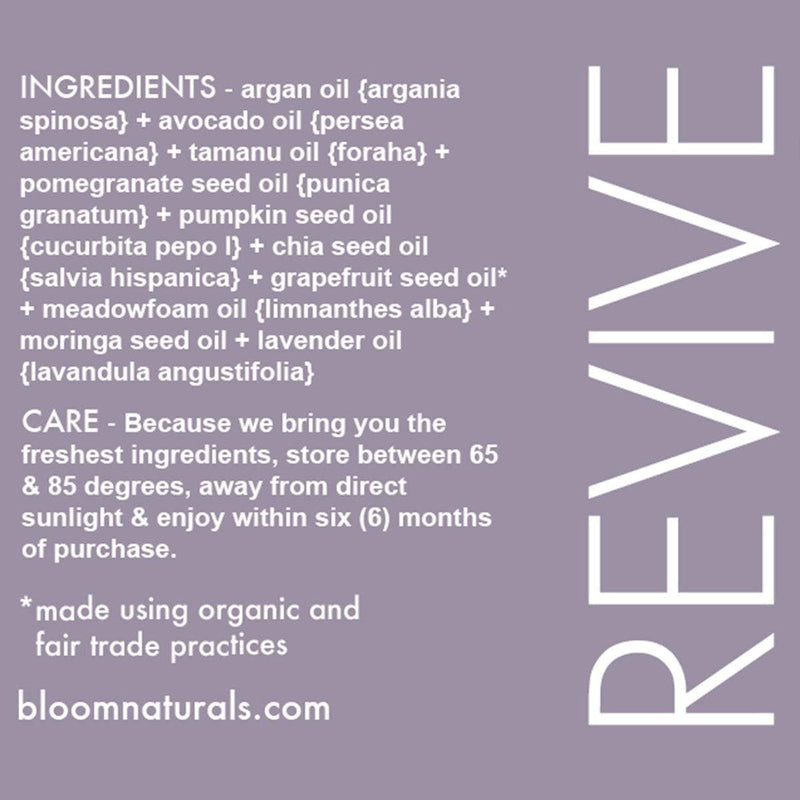 revive | nutrient dense hydration for face-face-Bloom Naturals