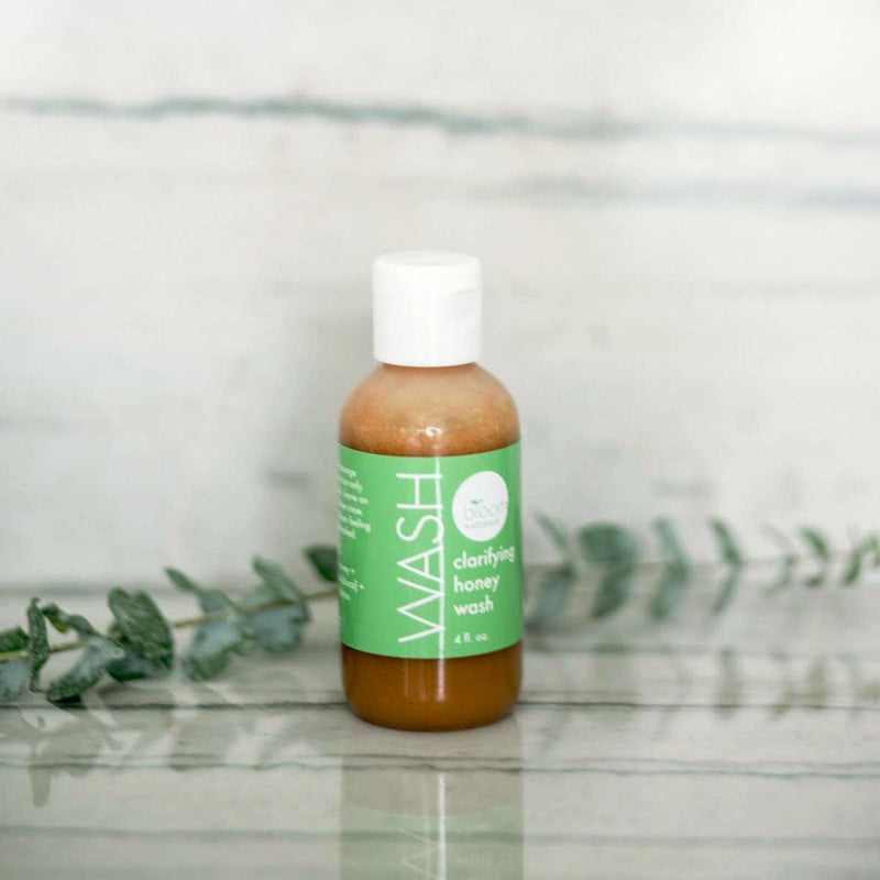 wash | clarifying honey wash for face-irritated skin-Bloom Naturals