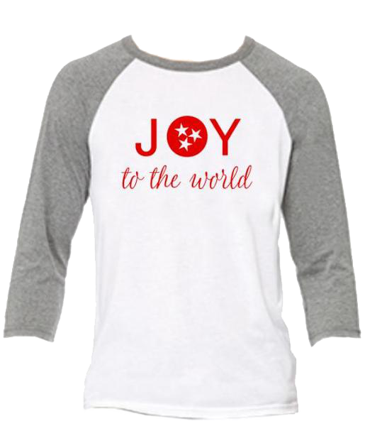 Christmas Tee: JOY to the world
