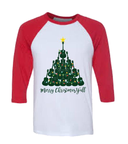 Christmas Tee (Adult): Merry Christmas Y'all