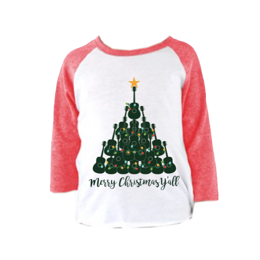 Christmas Tee (Infant/Toddler): Merry Christmas Y'all