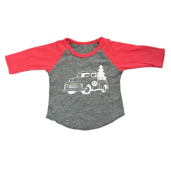 Christmas Tee (Infant/Toddler): Tennessee Truck
