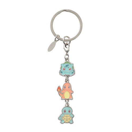 Nintendo TPC Ditto Bulbasaur Charmander Squirtle Keychain Pokemon