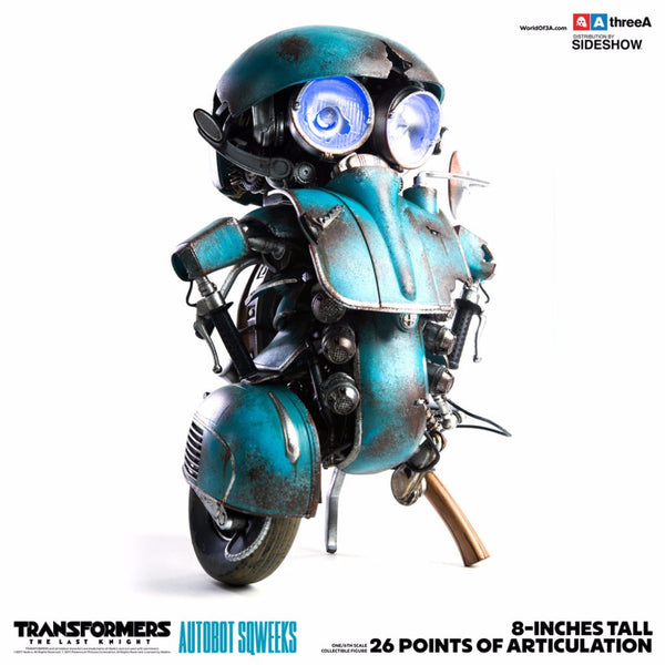 1/6th Scale Collectible Figure - Transformers: The Last Knight - Autobot Sqweeks