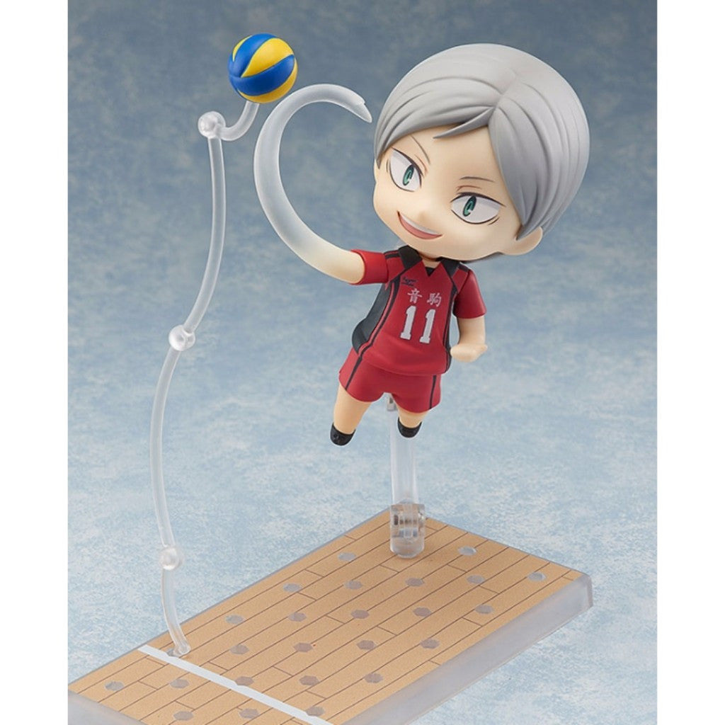 Nendoroid Haikyu!! - Morisuke Yaku & Lev Aiba Set With Bonus Parts