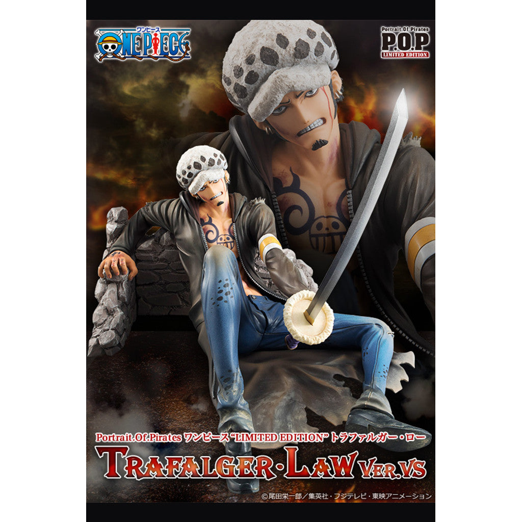 One Piece P.O.P. Portrait Of Pirates Limited Edition - Trafalgar Law Version VS MegaTrea Exclusive