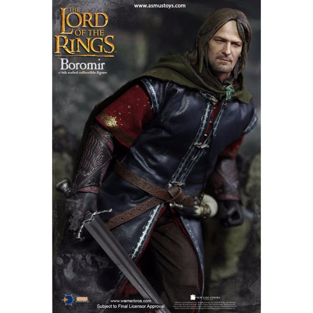 LOTR017Q - Heroes of Middle-Earth - Boromir (Sculpted Hair)