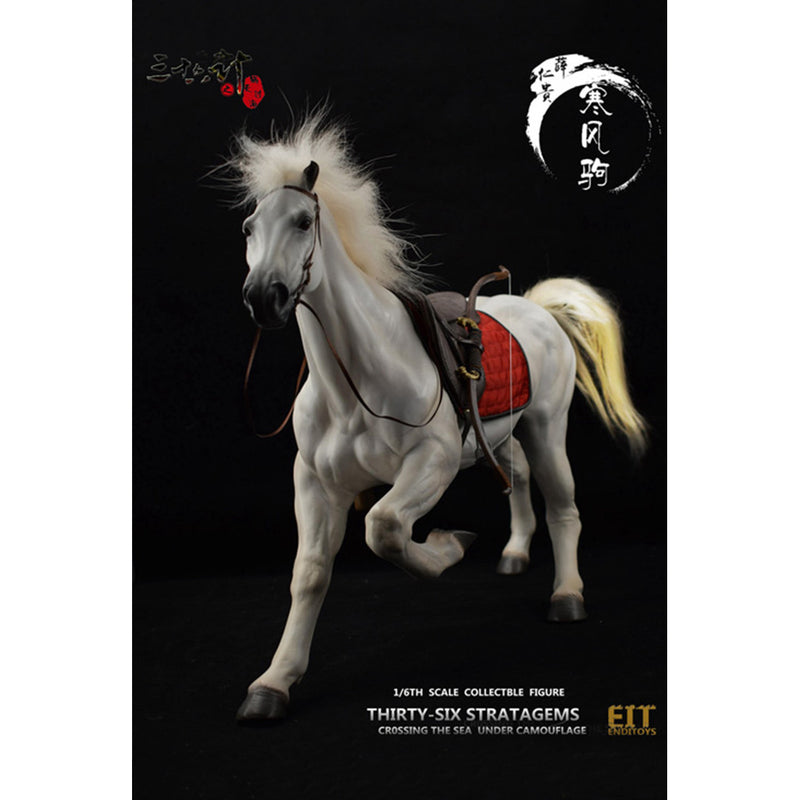 1/6th Scale Collectible Figure - Horse & Saddle