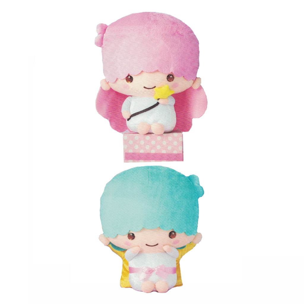 Little Twin Star KiKi & LaLa Sparkling Eyes Big Plush