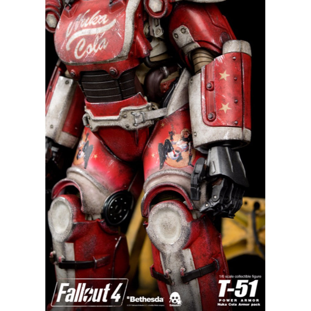 Fallout 4 - T-51 Power Armor (Nuka Cola Armor Pack)