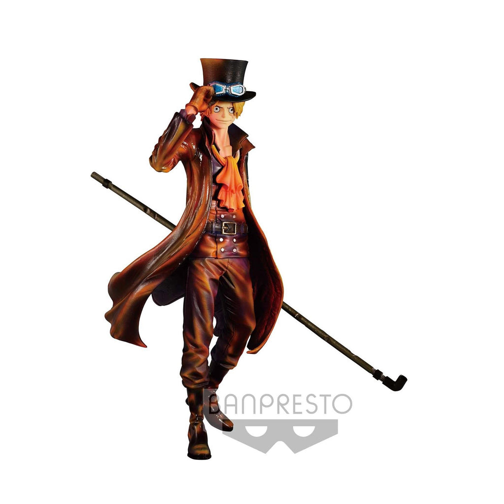 One Piece Sculture Sabo Burning color ver.