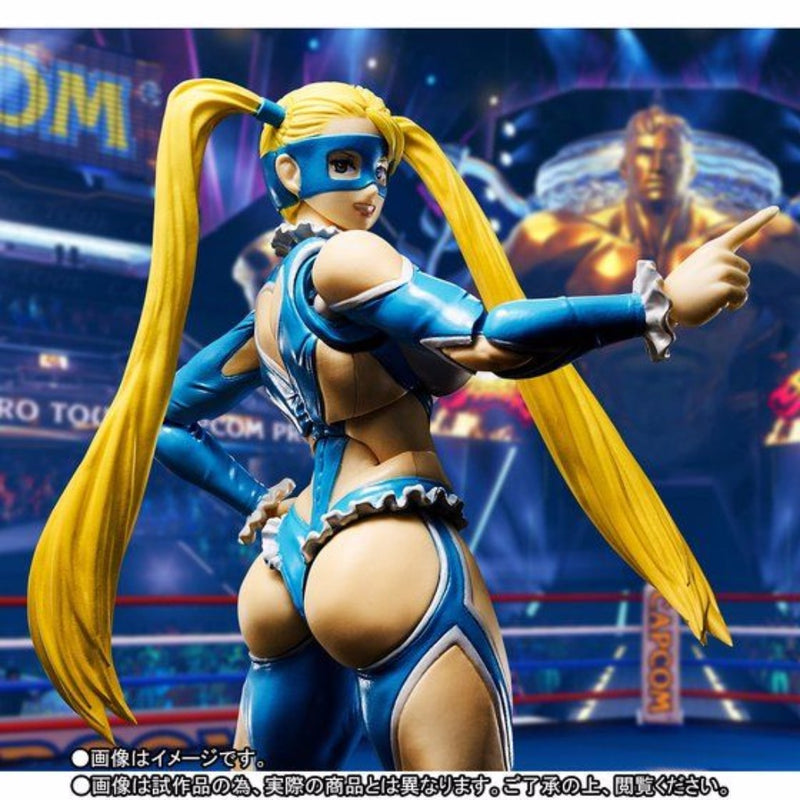 S.H. Figuarts Street Fighter V - Rainbow Mika TamashiWeb Exclusive