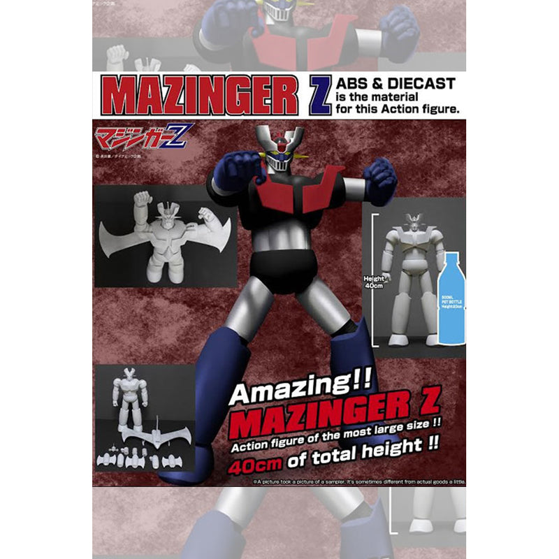 Die-cast Mazinger Z 40cm Action Figure With Extra Parts