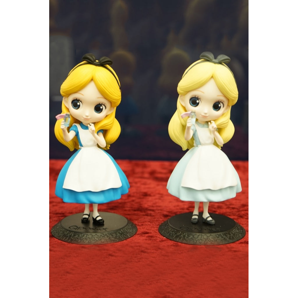 Q Posket Disney Characters - Alice Thinking Time (Normal Color) / (Special Color)
