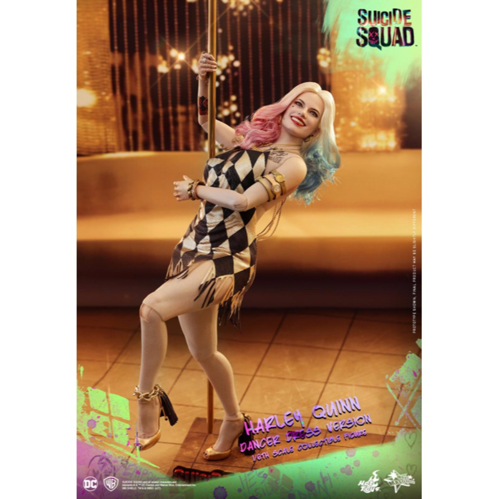 Hot Toys - MMS439 - Suicide Squad - 1/6th scale Harley Quinn (Dancer Dress Version)
