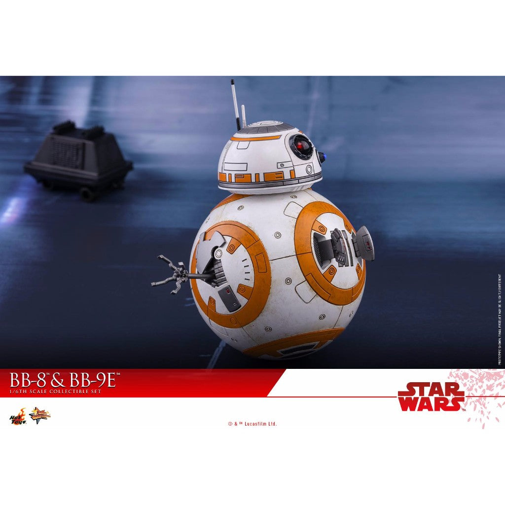 Hot Toys – MMS442 – Star Wars: The Last Jedi – 1/6th scale BB-8 & BB-9E Collectible Set