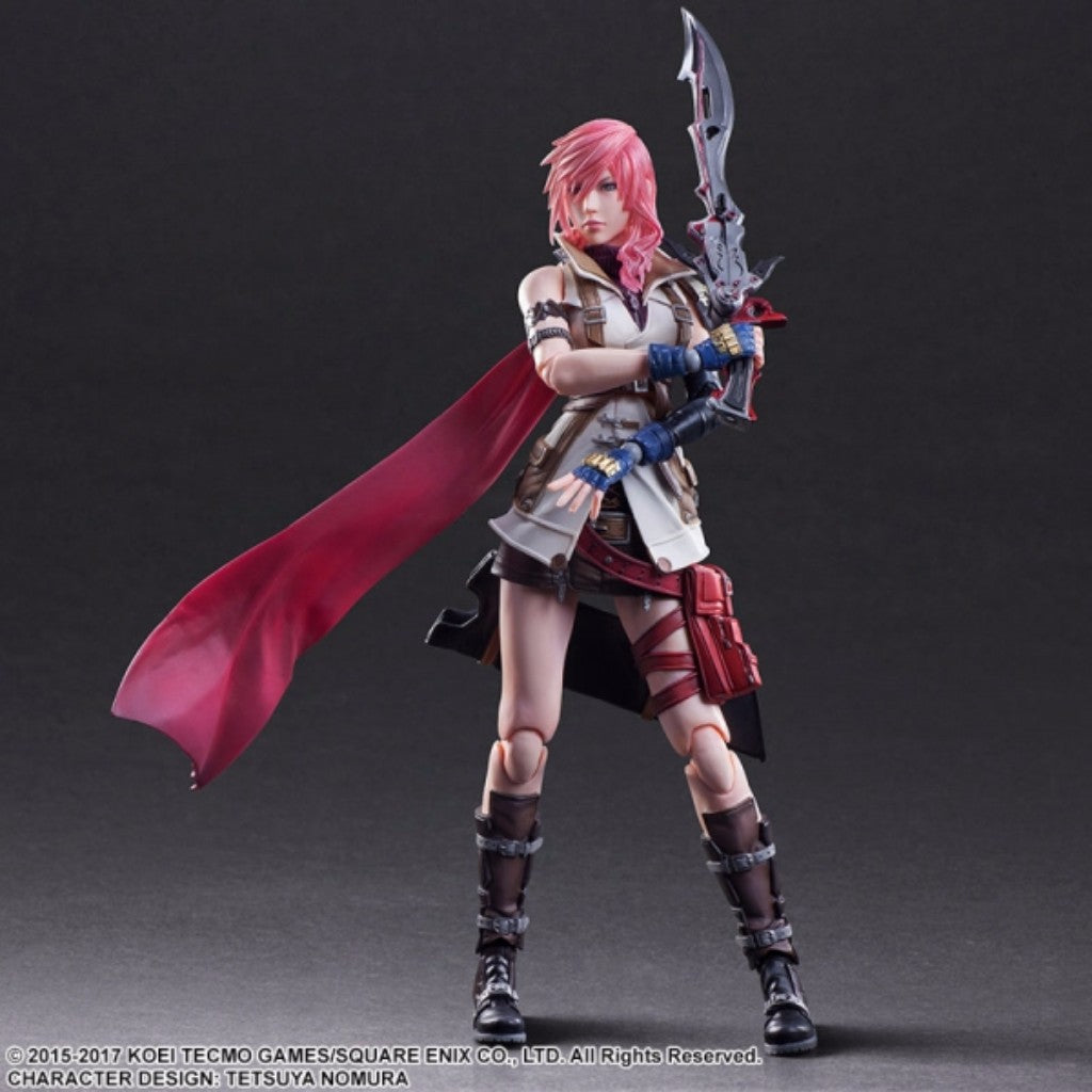 PlayArts Kai Dissidia Final Fantasy - Lightning