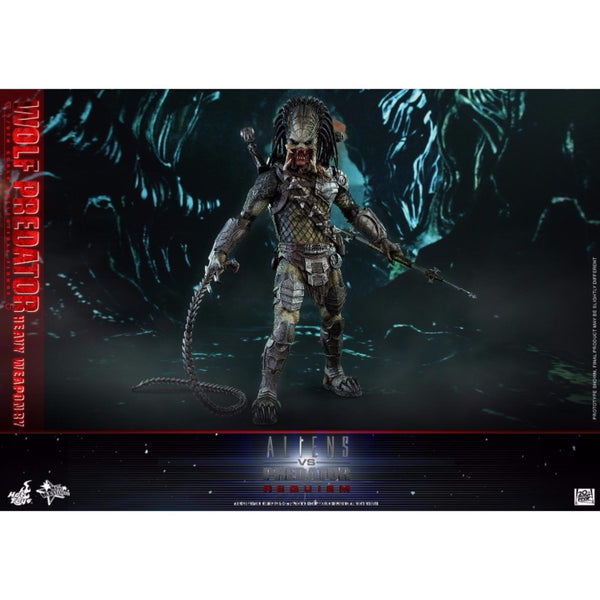Hot Toys – MMS443 – Alien vs. Predator: Requiem– 1/6th scale Wolf Predator (Heavy Weaponry)