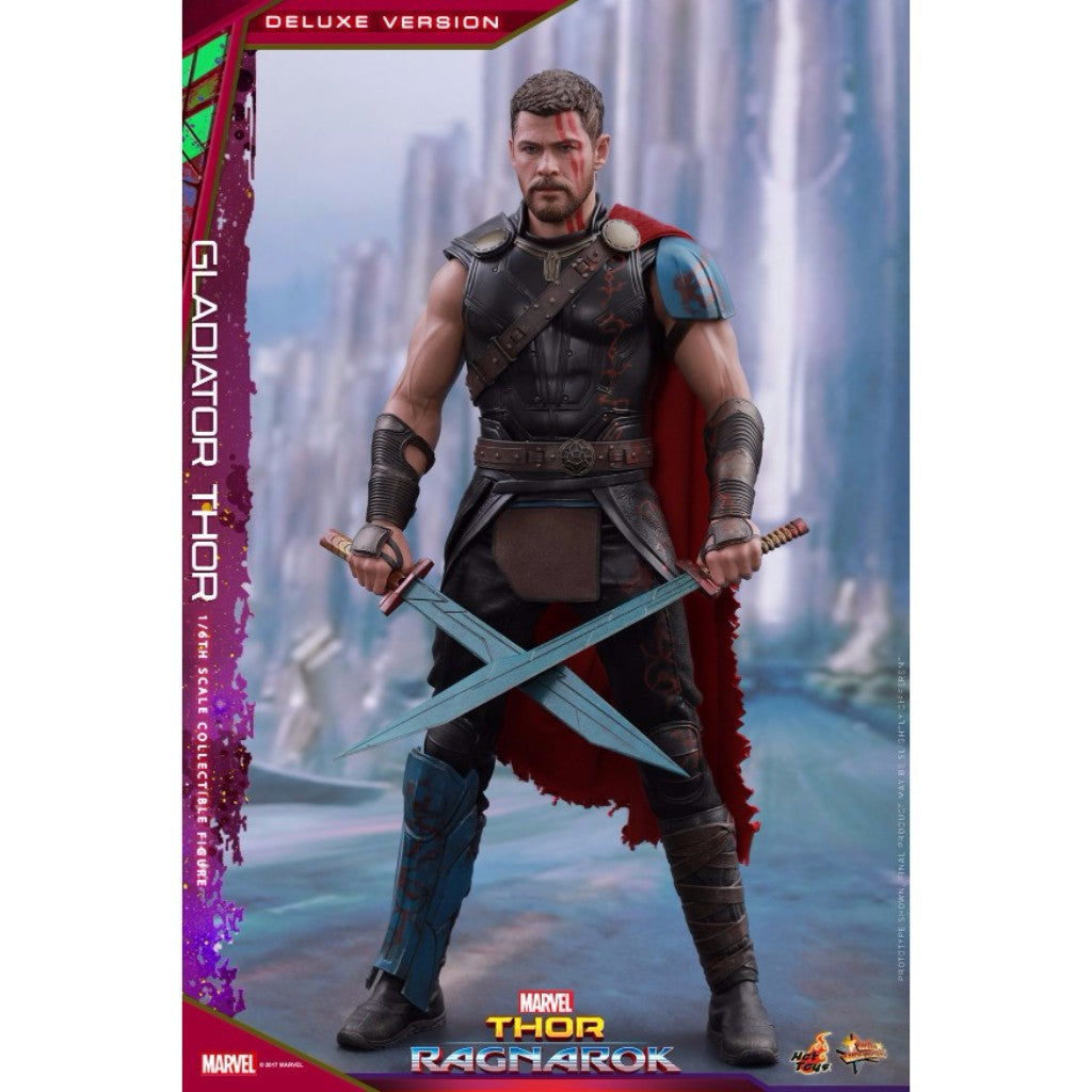 Hot Toys – MMS445 – Thor: Ragnarok – 1/6th scale Gladiator Thor (Deluxe Version)