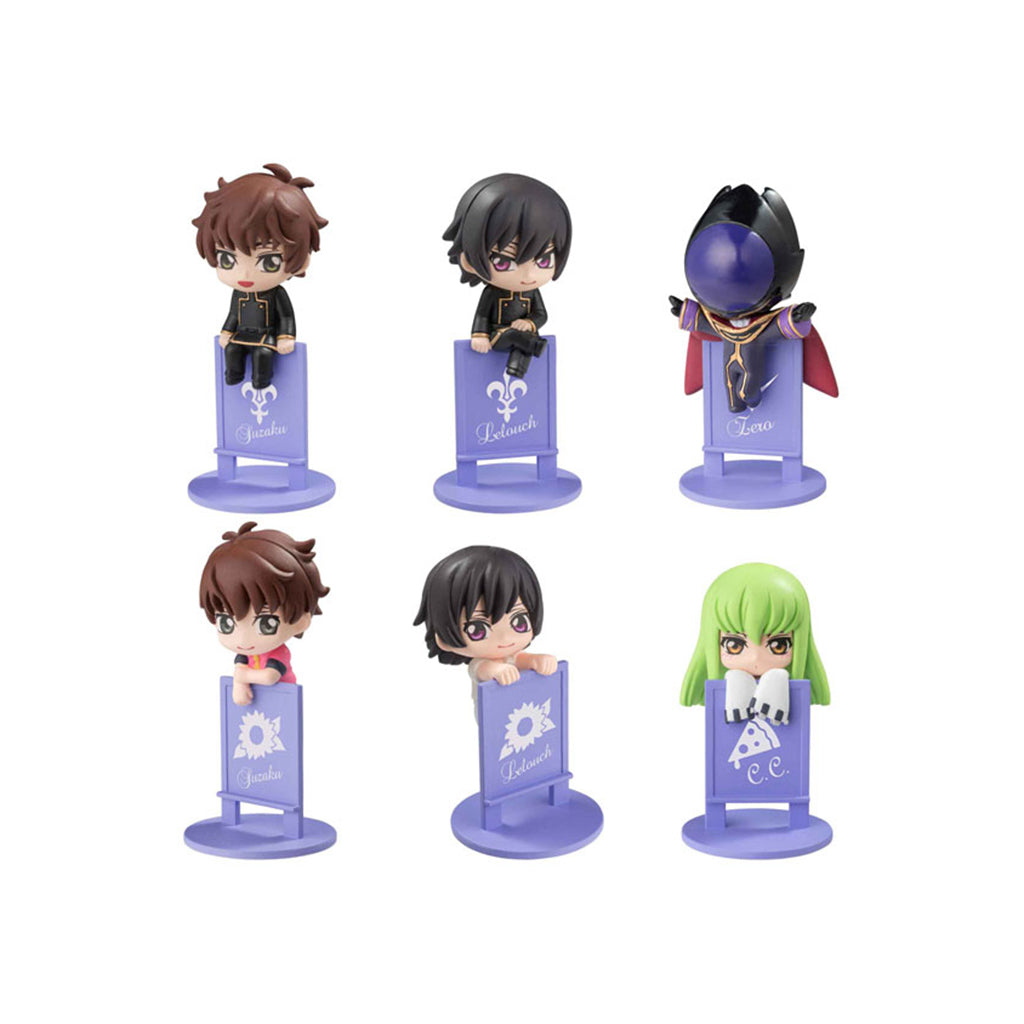 Ochatomo Series Code Geass Lelouch Of The Rebellion Box (8 Pcs)