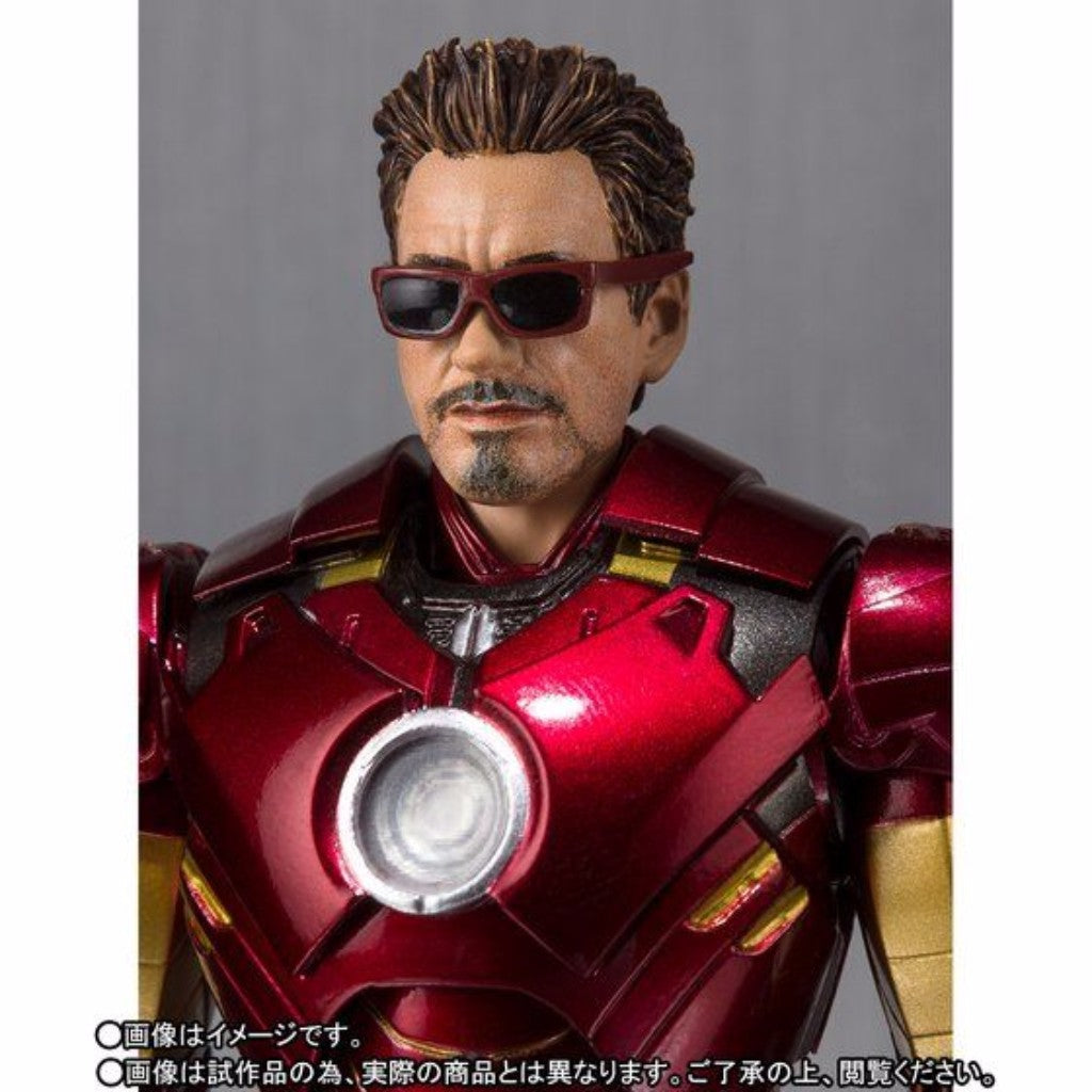 S.H. Figuarts Iron Man 2 - Iron Man Mark 4 & Hall Of Armor Set