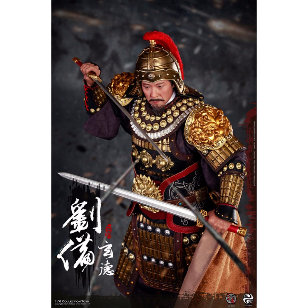 Three Kingdom Series - 1/6 Liu Bei (Xuande) Armed Version