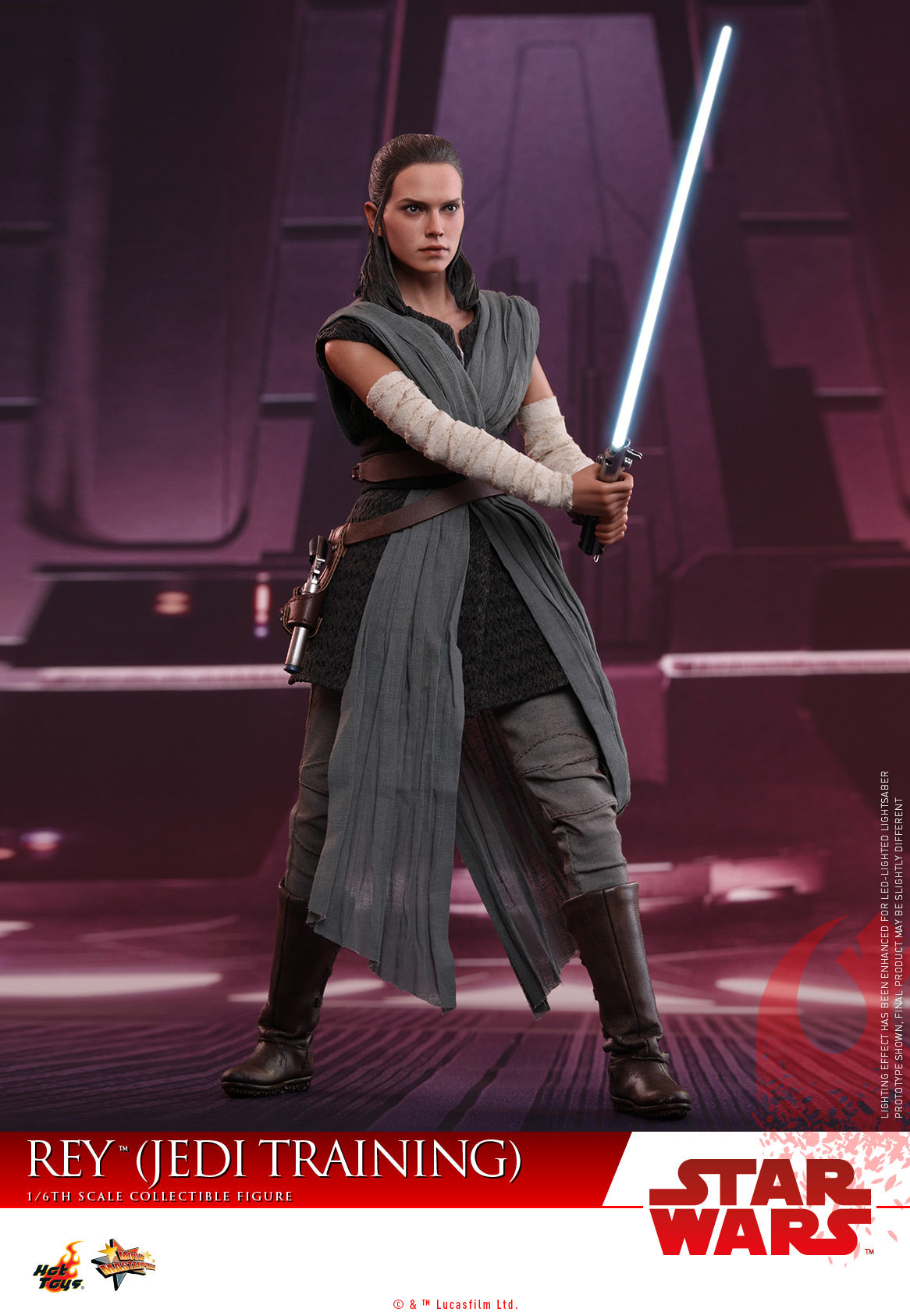 Hot Toys - MMS446 - Star Wars: The Last Jedi - 1/6th scale Rey (Jedi Training)