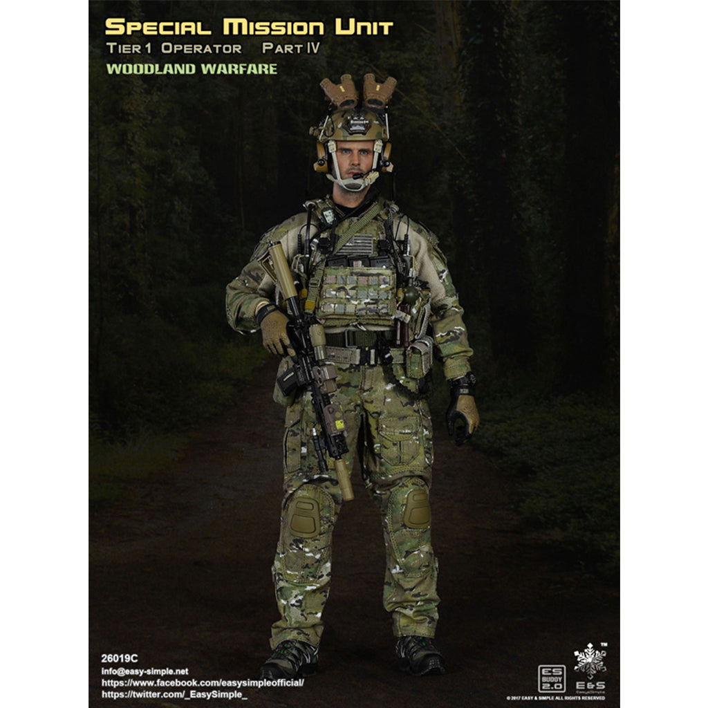 26019-C - Special Mission Unit Tier-1 Operator Part IV Woodland Warfare