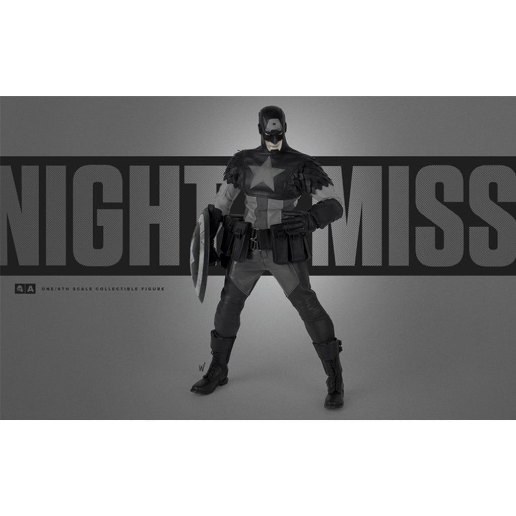 1/6th Scale Collectible Figure - Marvel - Night Mission Captain America