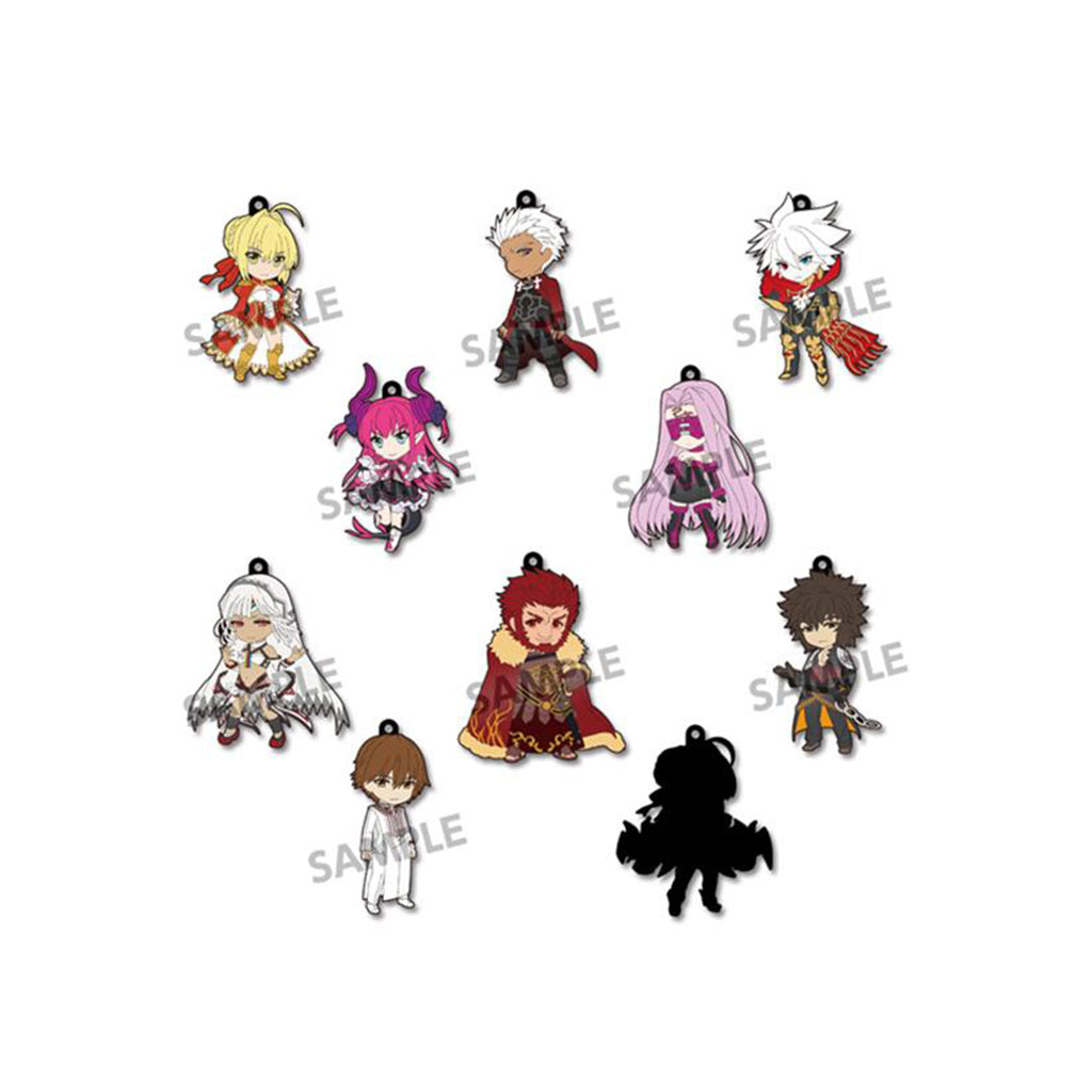 (HOBBY STOCK) Pikuriru! Fate/EXTELLA Trading Rubber Strap vol.1 (Box of 10 Blind Packs)
