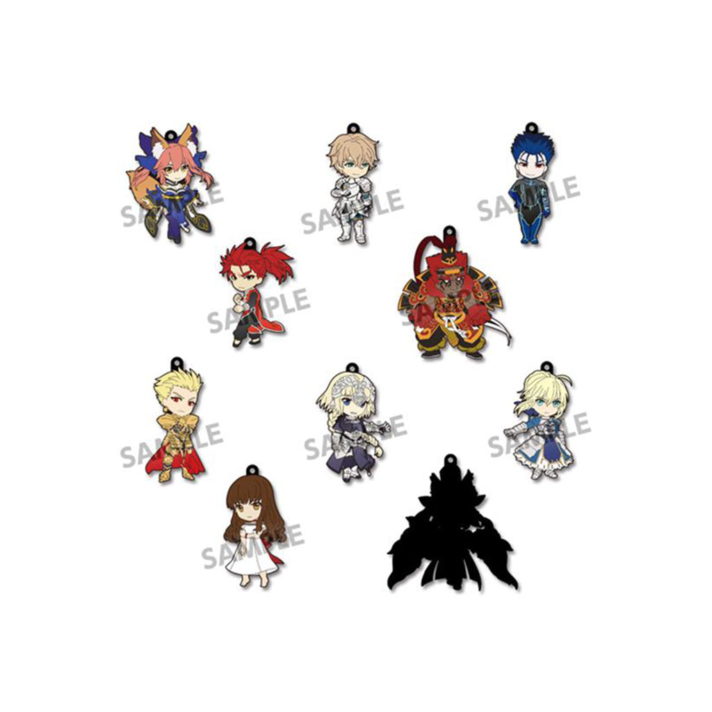 (HOBBY STOCK) Pikuriru! Fate/EXTELLA Trading Rubber Strap vol.2 (Box of 10 Blind Packs)
