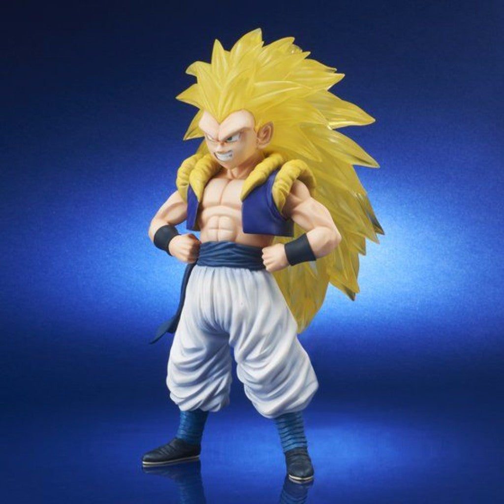 Gigantic Series Dragon Ball Z - Super Saiyan 3 Gotenks Bandai Premium Exclusive