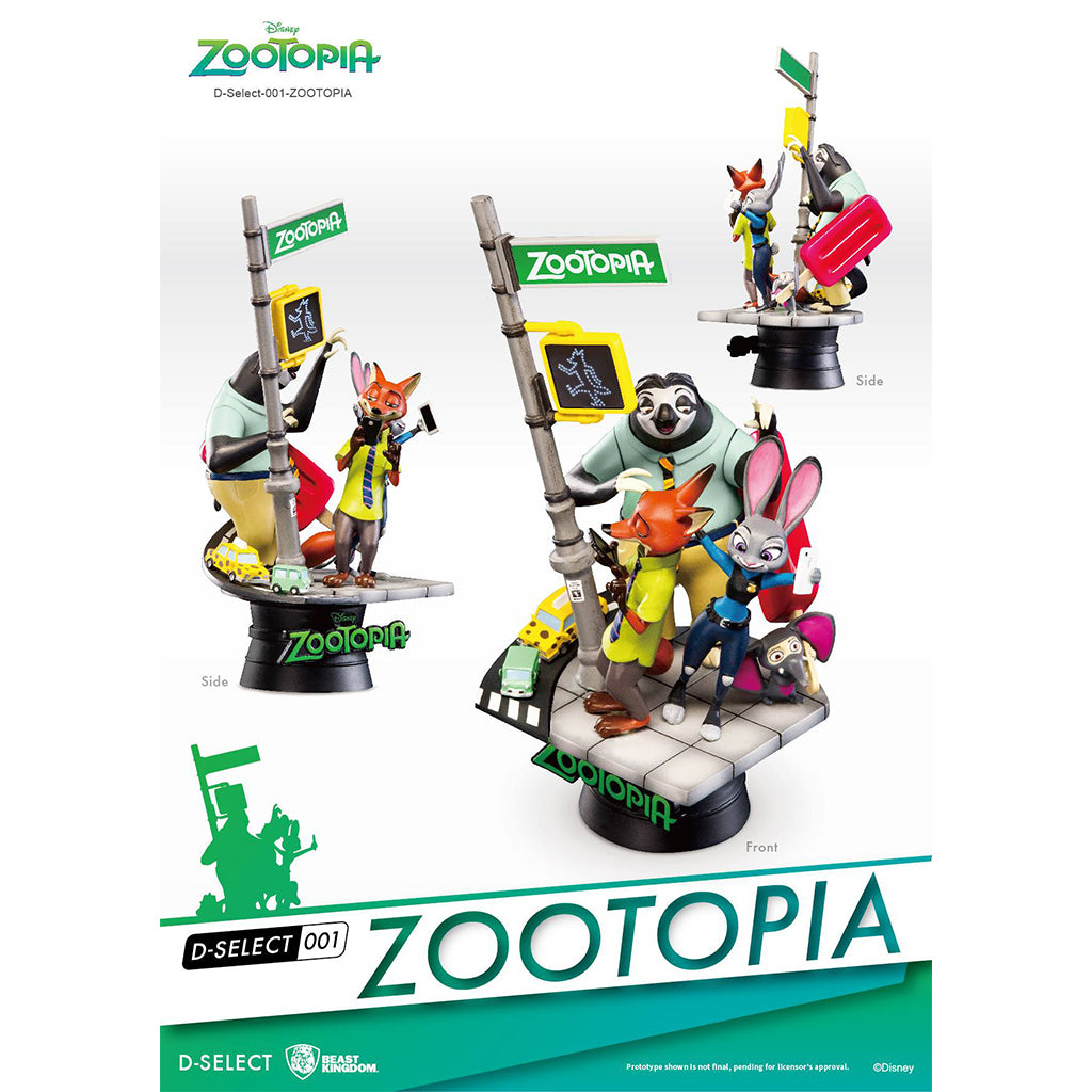 D-Select DS-001 Zootopia