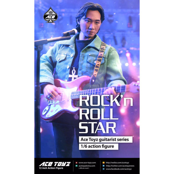 AT-007 - Guitarist Series - Rock'n Roll Star