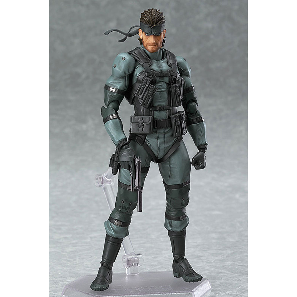 Figma 243 Metal Gear Solid - Solid Snake MGS2 Version (Reissue)
