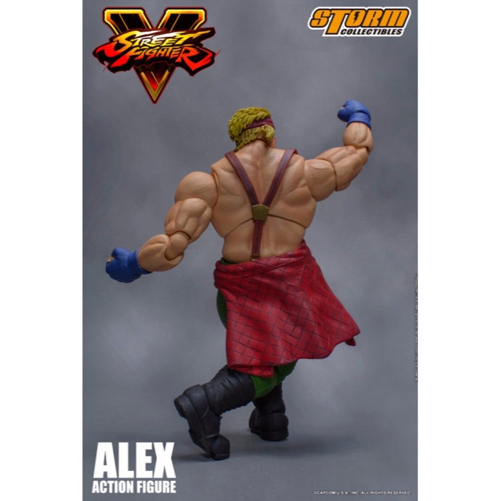 1:12 Scale Action Figure - Street Fighter V - Alex
