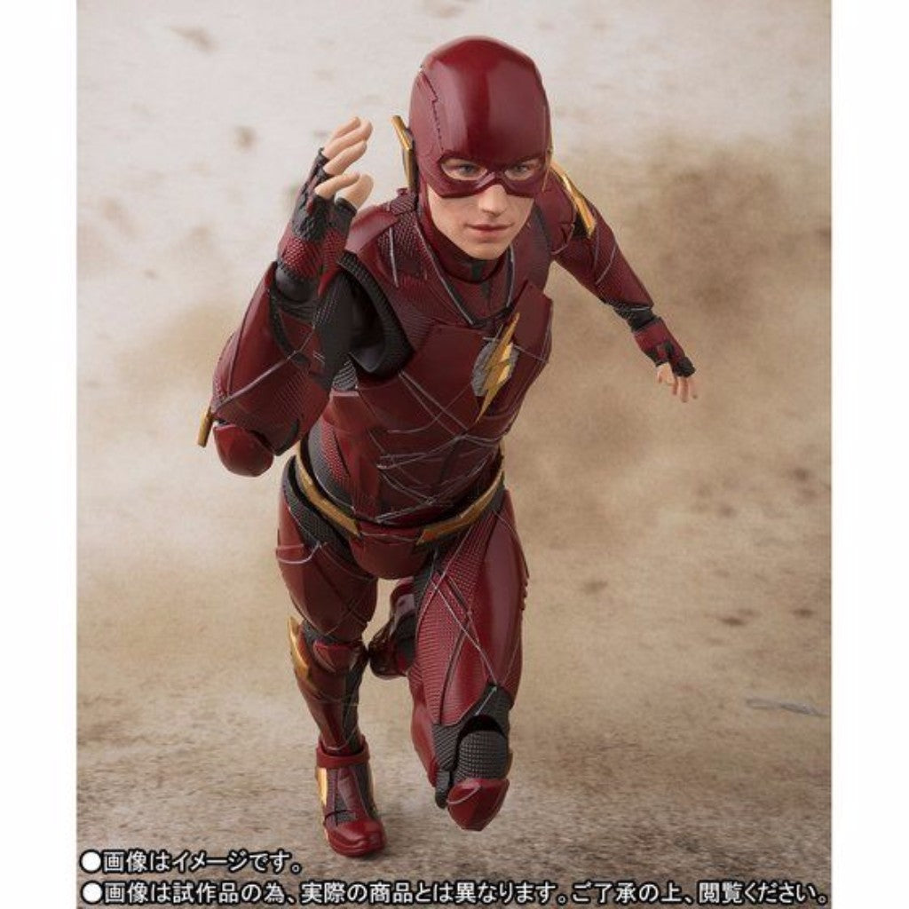 S.H. Figuarts Justice League - Flash TamashiWeb Exclusive