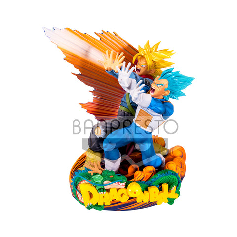 DB SUPER SMS DIORAMA II VEGETA & TRUNKS -THE BRUSH-